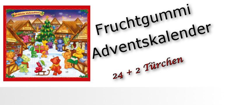 Adventskalender Bärenland 24+2 Türchen