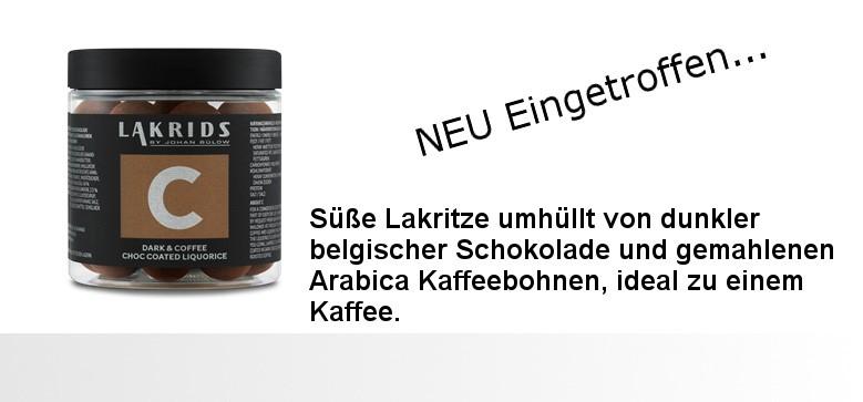 Schokolakritz aus Dänemark